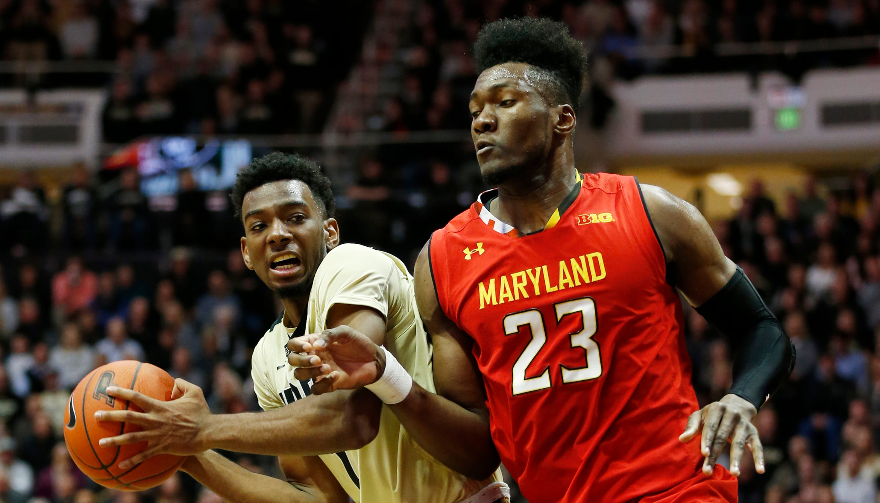 cf3e16f3629f Scouting No. 12 Purdue men s basketball at No. 24 Maryland
