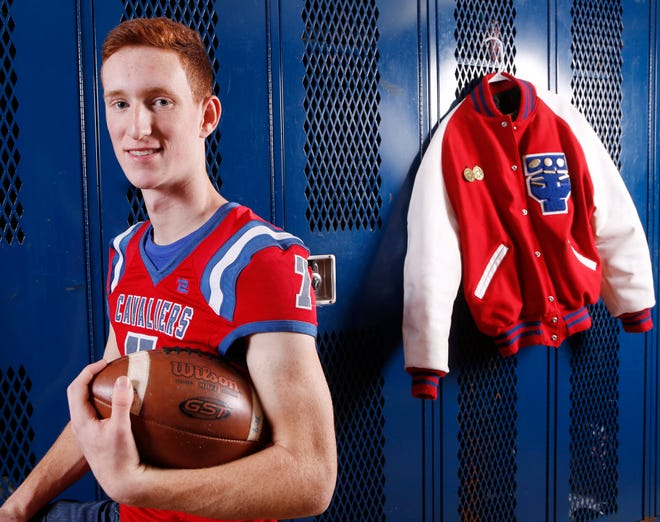 Kale Lawson of Tri-County High School is the 2018 Journal & Courier Small School Offensive Football Player of the Year.