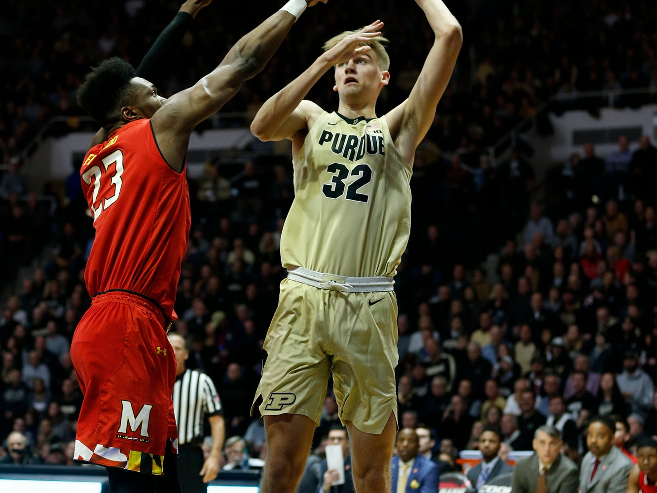 Thursday, December 6, 2018, at Mackey Arena. Purdue defeated Maryland 62-60. Purdue defeated Maryland 62-60.