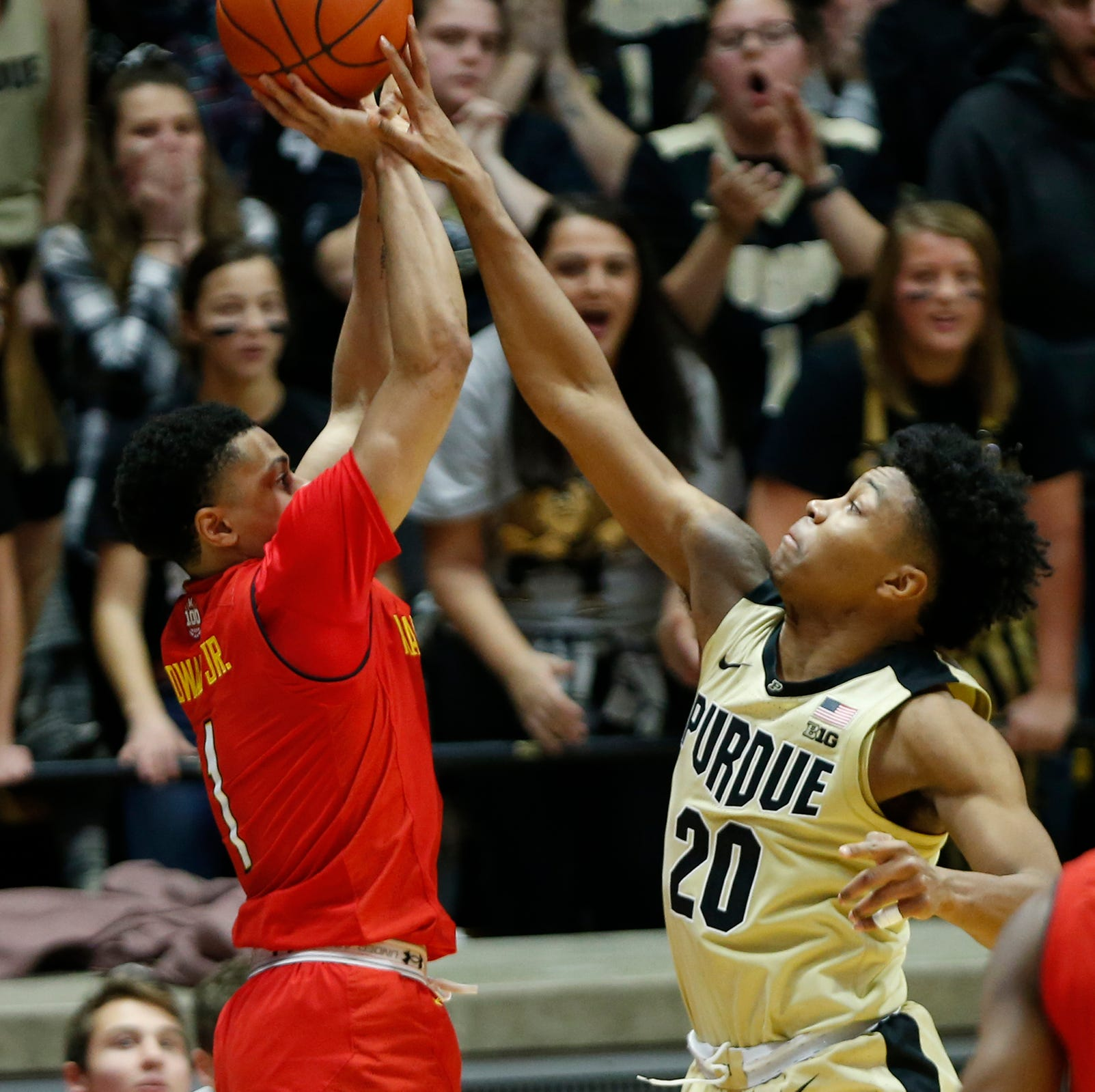 Purdue basketball steps up defensively to hold off No. 23 Maryland
