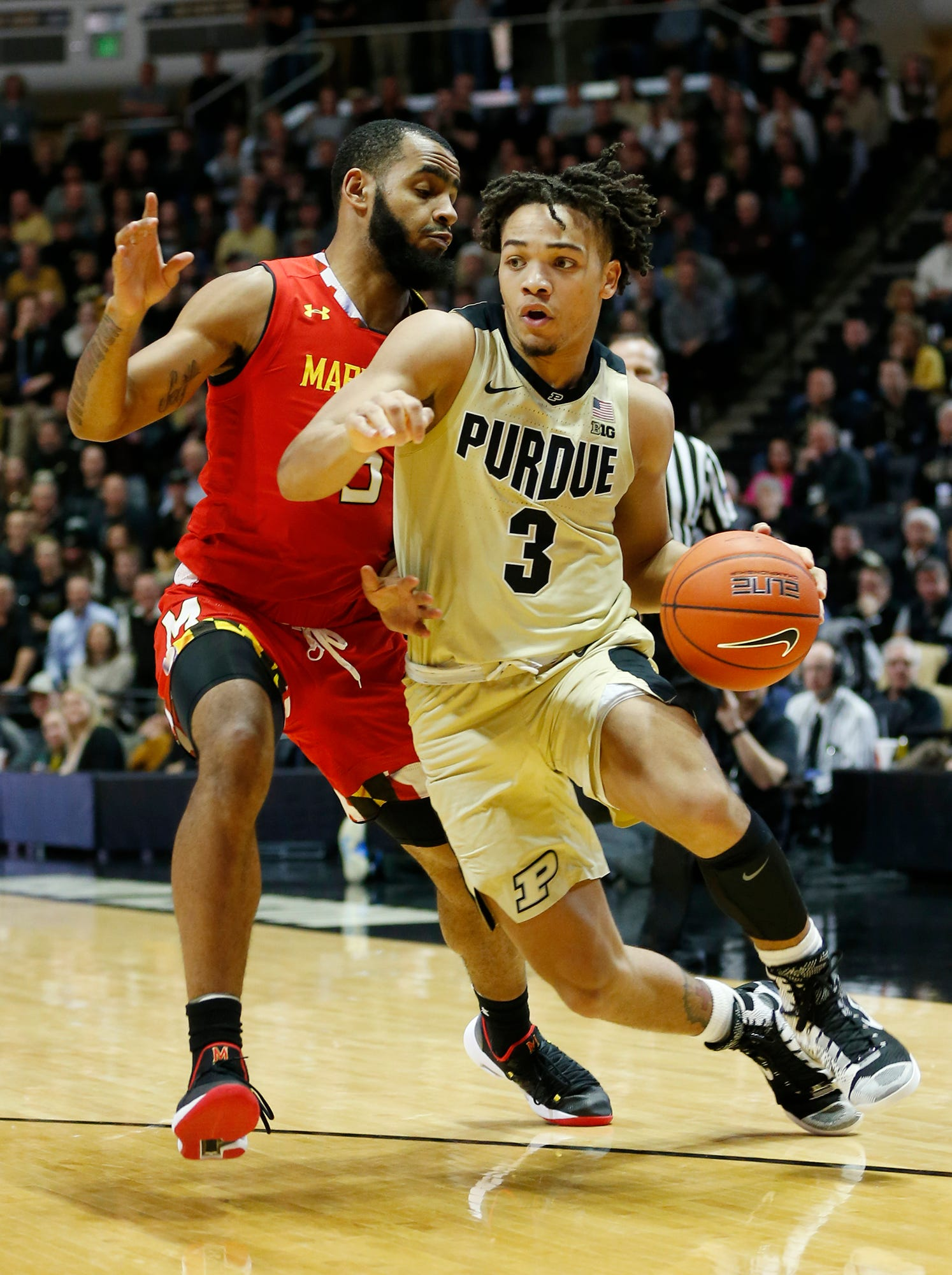 47869ddc0977 Purdue basketball s Carsen Edwards shares Big Ten Player of the Week for  second time