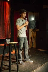 Vaughan Veillon co-hosts Lafayette Comedy's Wurst Open Mic every Wednesday at the Wurst Biergarten and hosts the Sticky Zingers showcase every second and fourth Saturday at Wing Fingers.