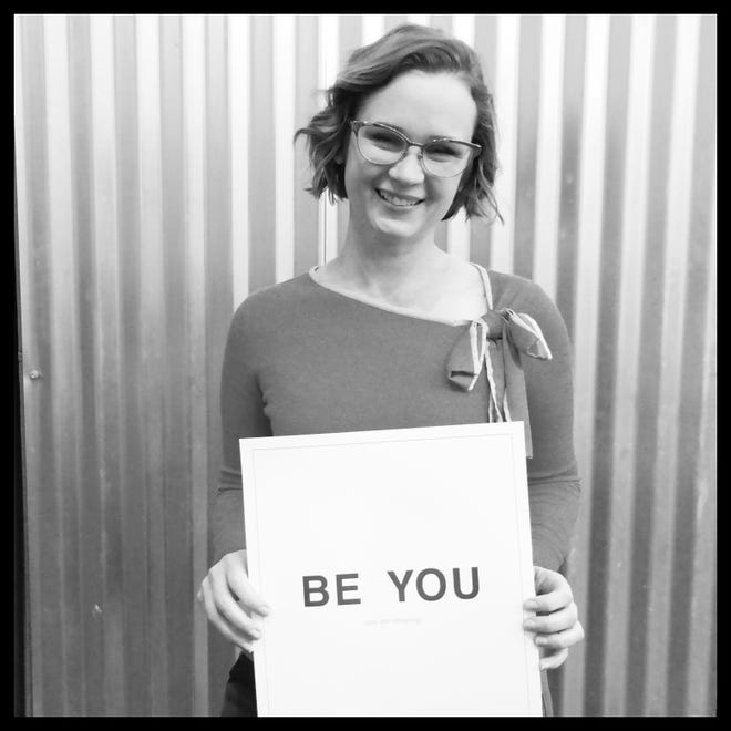 The one and only April Courville is this week's Be You.