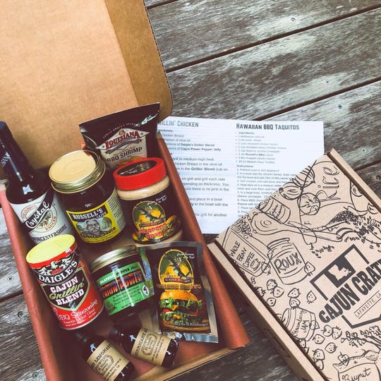 A Cajun Crate Box subscription is a unique way to give the gift of Cajun culture