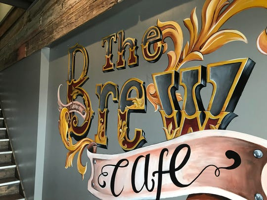 When The Brew Cafe opens Dec. 17 it will offer a coffee menu that includes nitro brew and specialty drinks. Plans are in the works to add pastries, and eventually craft beer and wine.