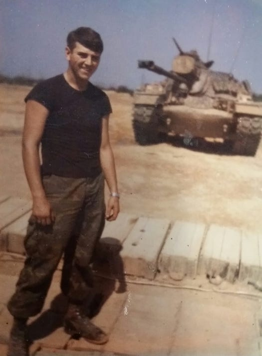 Jan With His Tank
