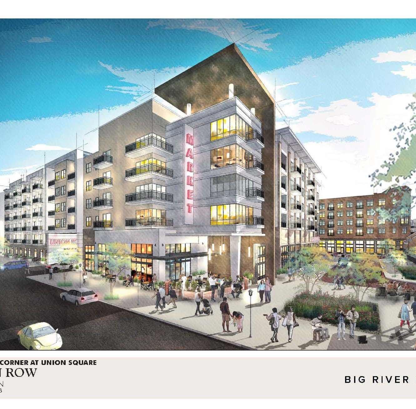 Union Row 'will be for all of Memphis,' developer says of $950 million project
