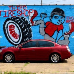 Third Tire Shop, where owner Kamel Al Abes and co-worker Marcus Anderson sustained multiple gunshots, fired by a co-worker December 6, 2018