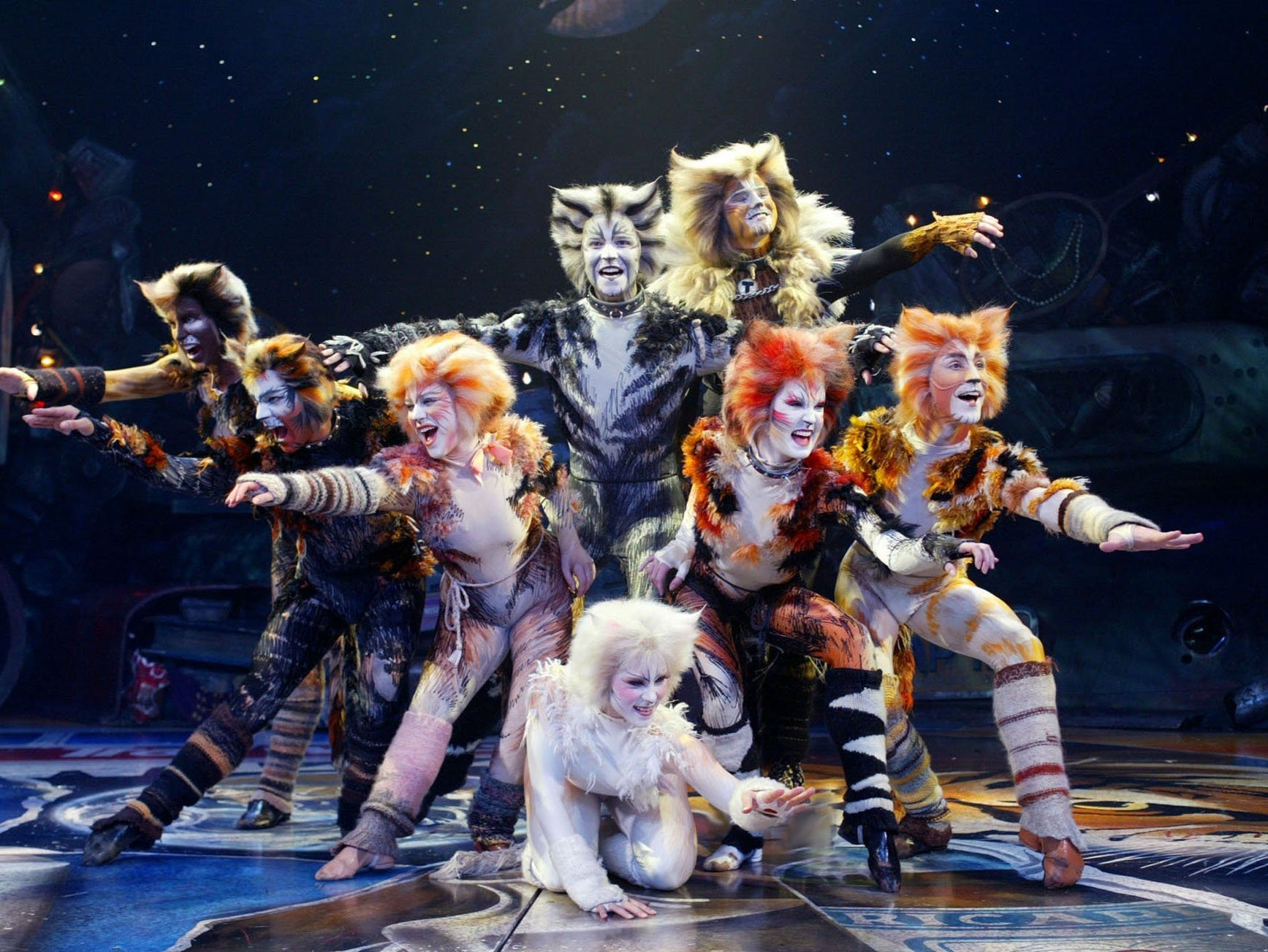A touring production of Cats had a short run at the Marcus Center, 929 N. Water St.