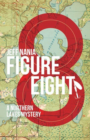 Figure Eight, a murder mystery novel written by Jeff Nania, is set on Spider Lake in Wisconsin.