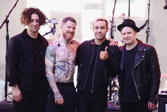 Fall Out Boy Performs On Nbc S Today