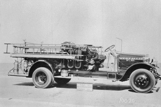 This 1930 Pirsch & Sons fire truck was used by the West Allis Fire Department from 1930 to 1972. The department is now looking to buy the truck back from a private collector to use for education and promotion purposes.