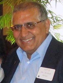 Arvind Ahuja, in 2015.