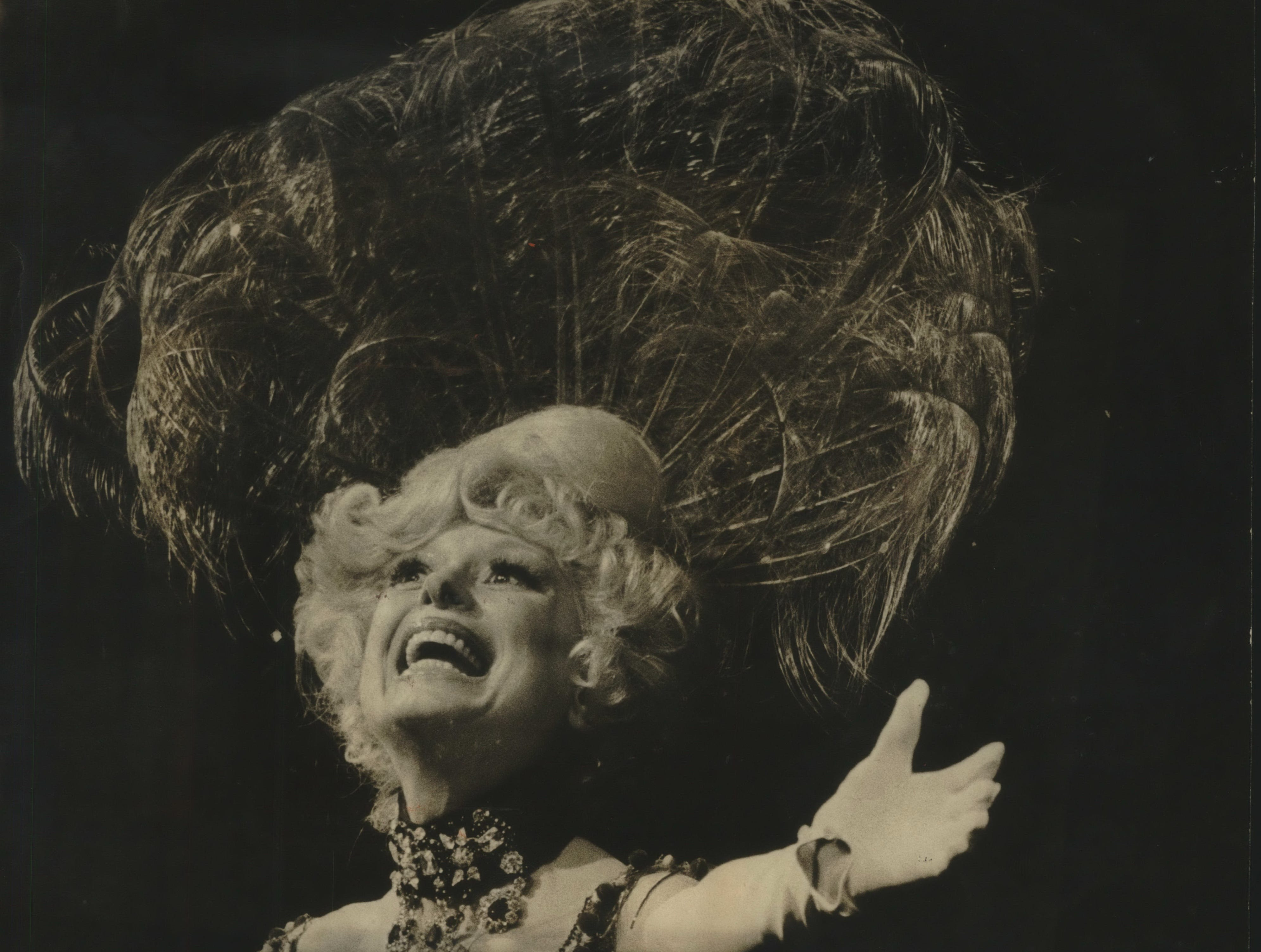 """Milwaukee-Carol Channing at the PAC Tuesday night plays in """"Hello Dolly."""""""