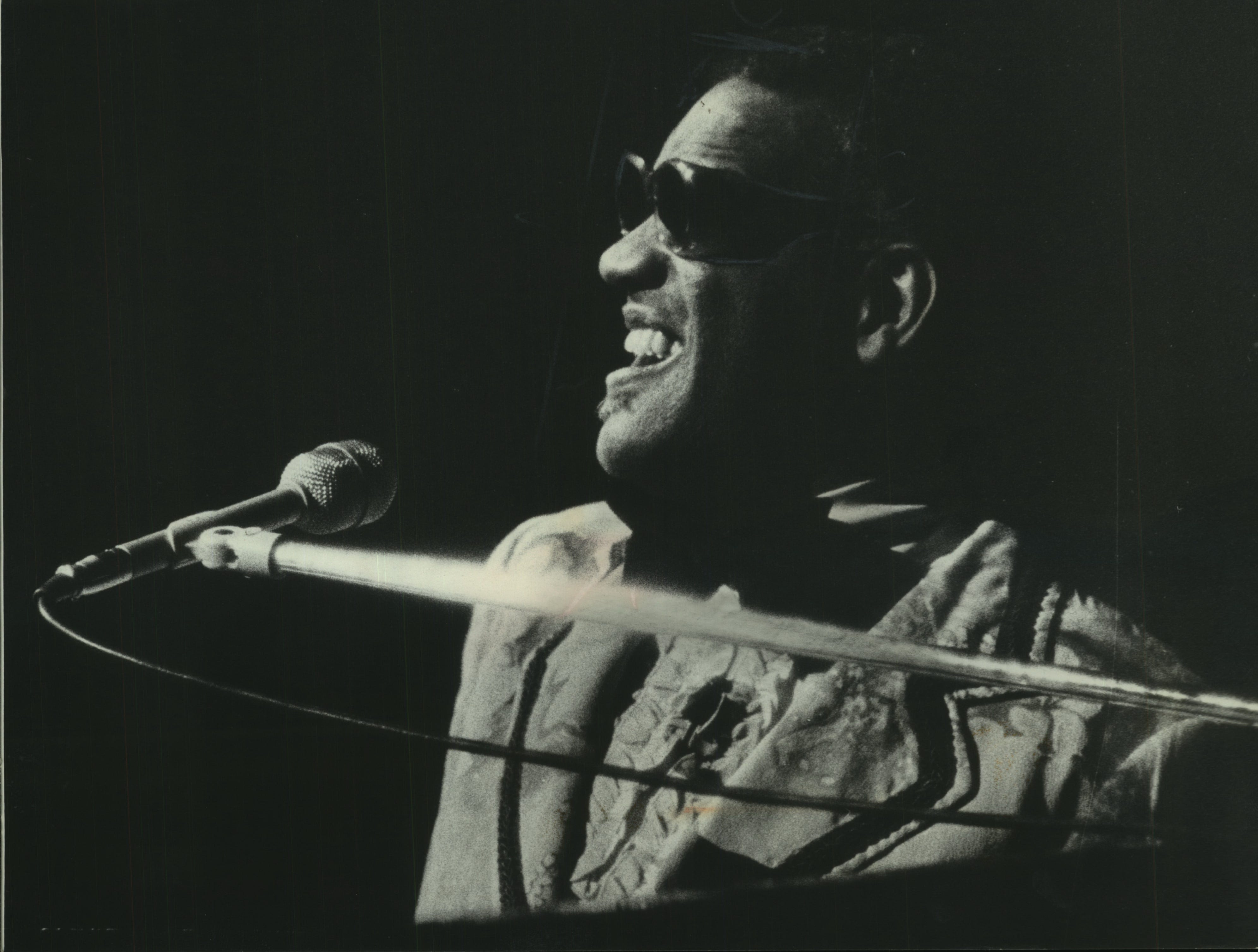 Ray Charles at the PAC (Milwaukee Performing Arts Center)