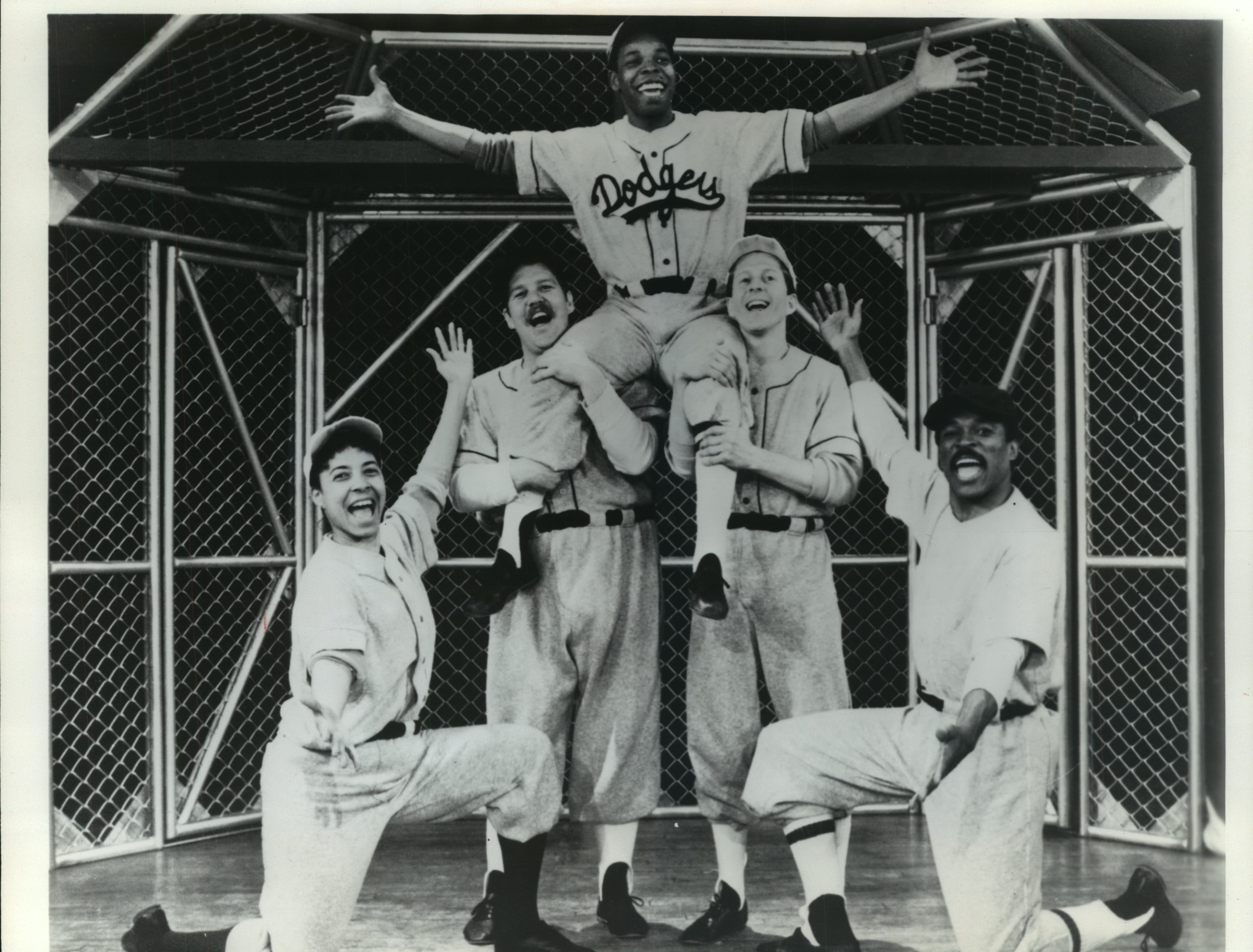 """""""Play to Win: The Story of Jackie Robinson"""" will be performed by TheatreWorks USA, a touring company, at 1:30 and 3:30 Sunday at the Todd Wehr Theater of the PAC, 929 Water St. Tickets are $8.50. The play presented by First Stage Milwaukee, will run through May 10."""