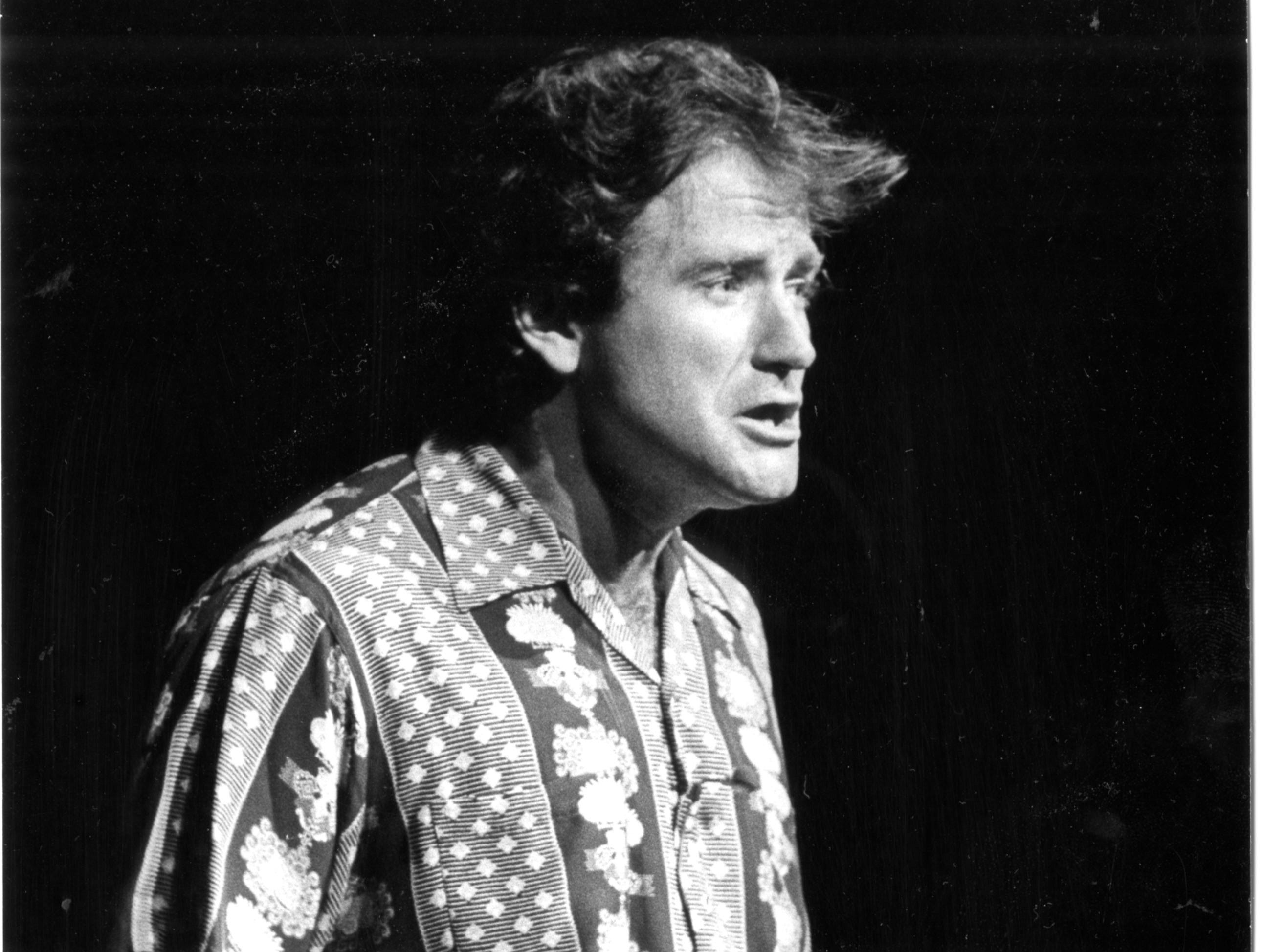 Copy of Journal Staff Photo by Jack Orton of Robin Williams at the PAC in Milwaukee on May 24th 1982. ORG XMIT: MJS1408111936374793 --- Journal Sentinel files