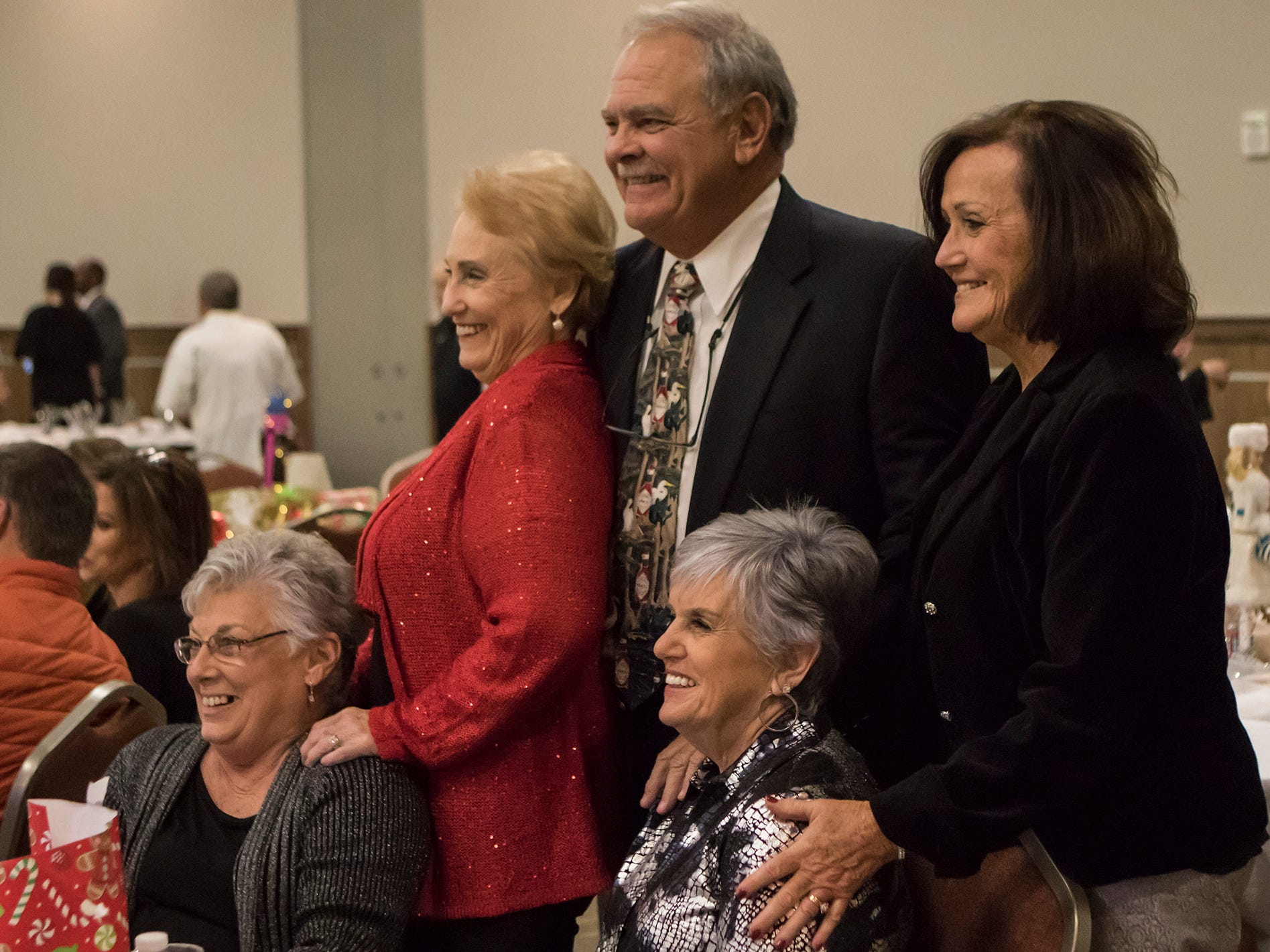 The Monroe City Chamber gathered at University of Louisiana at Monroe's Bayou Pointe for their annual charity auction and gala on Dec. 6 in Monroe, La.