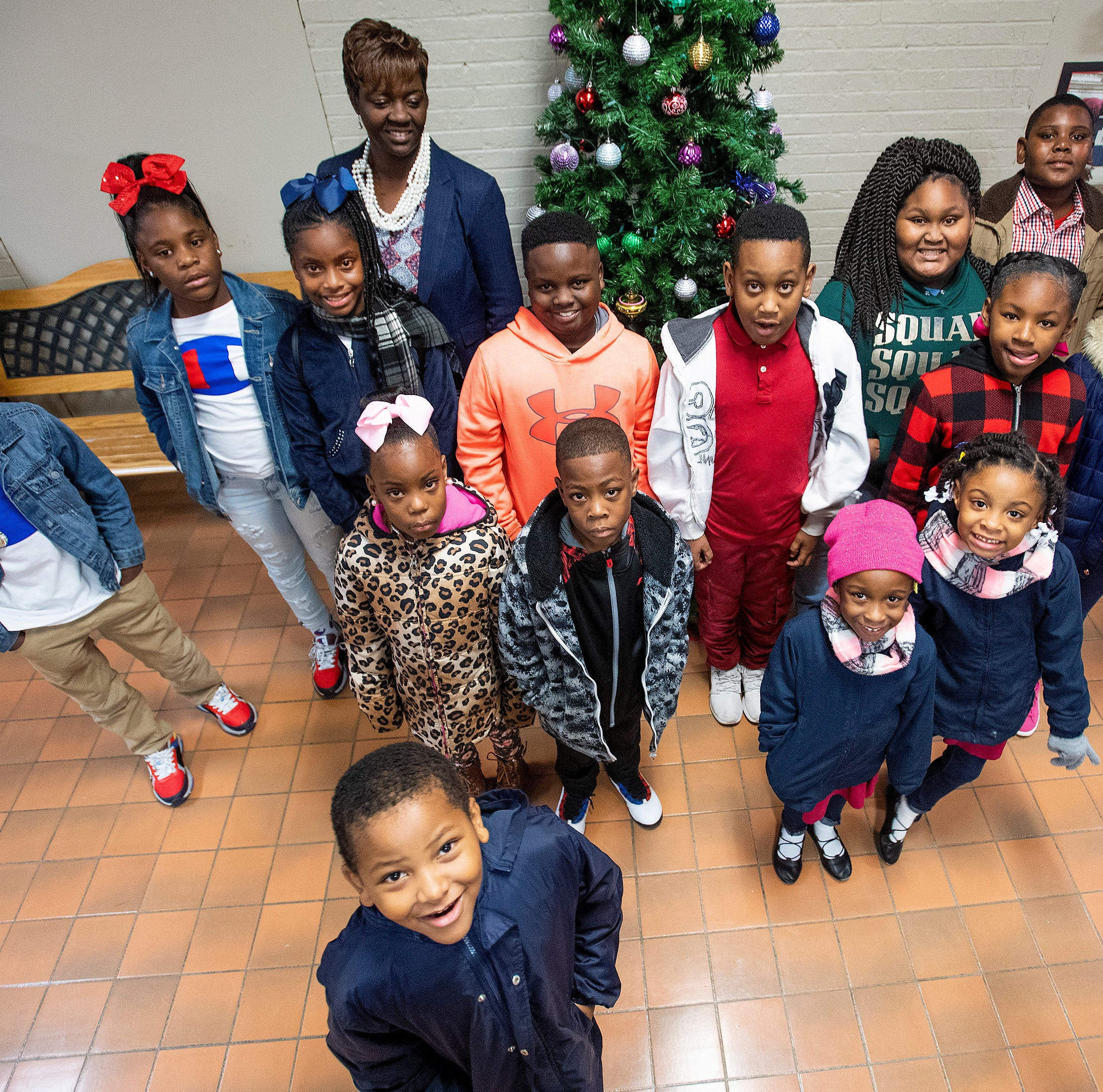 12 sets of twins have Crump Elementary seeing double