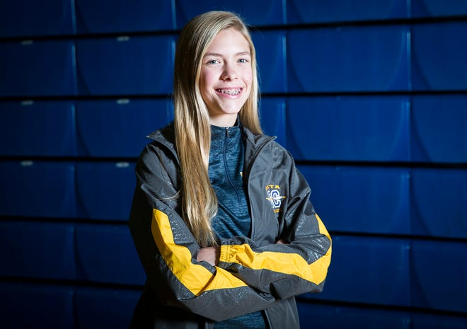 FILE -- Delta's Makayla Robles recorded noteworthy performances during postseason races last season and is poised for more in 2019.