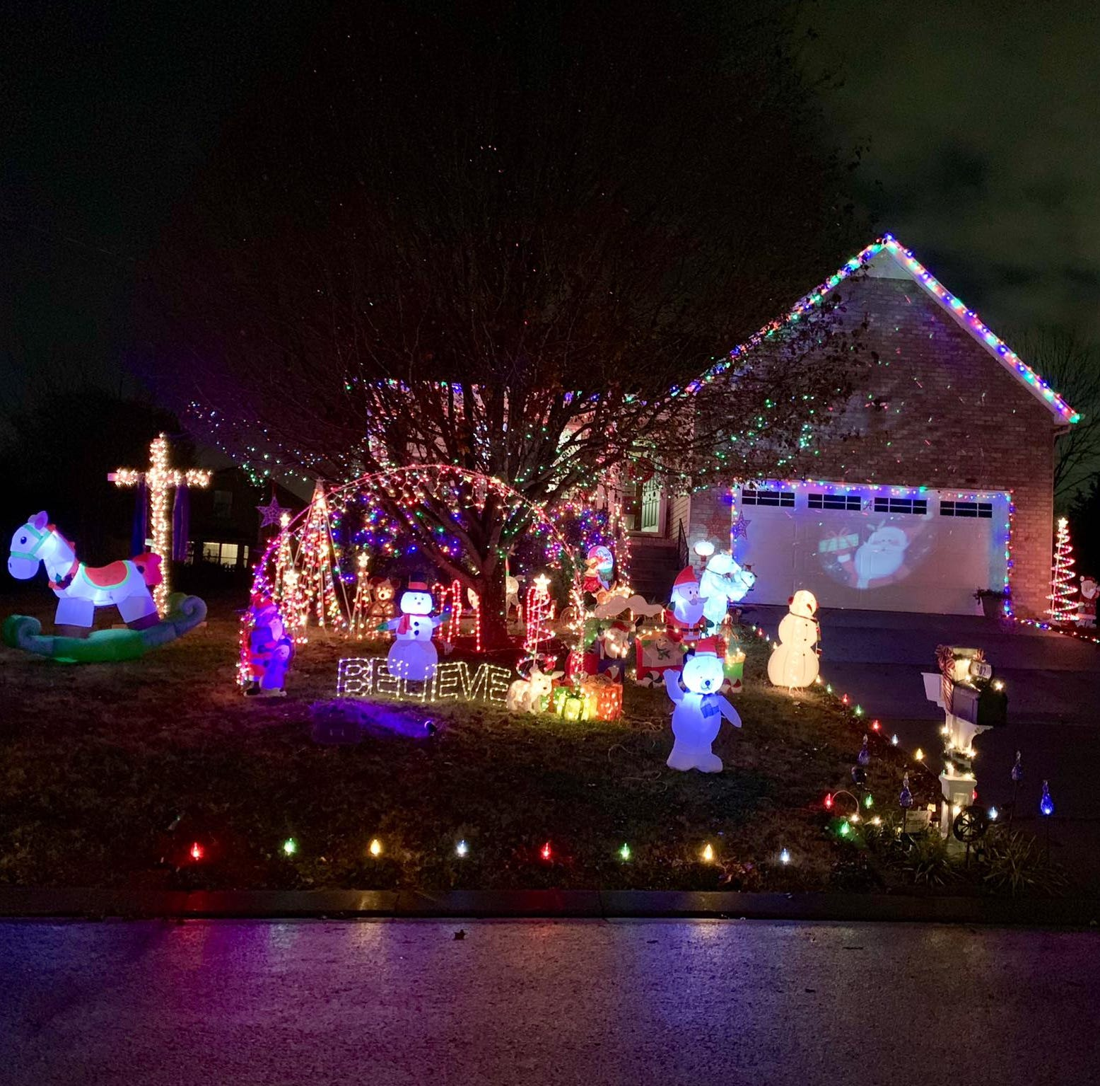 Check out some of Rutherford County's favorite Christmas lights displays