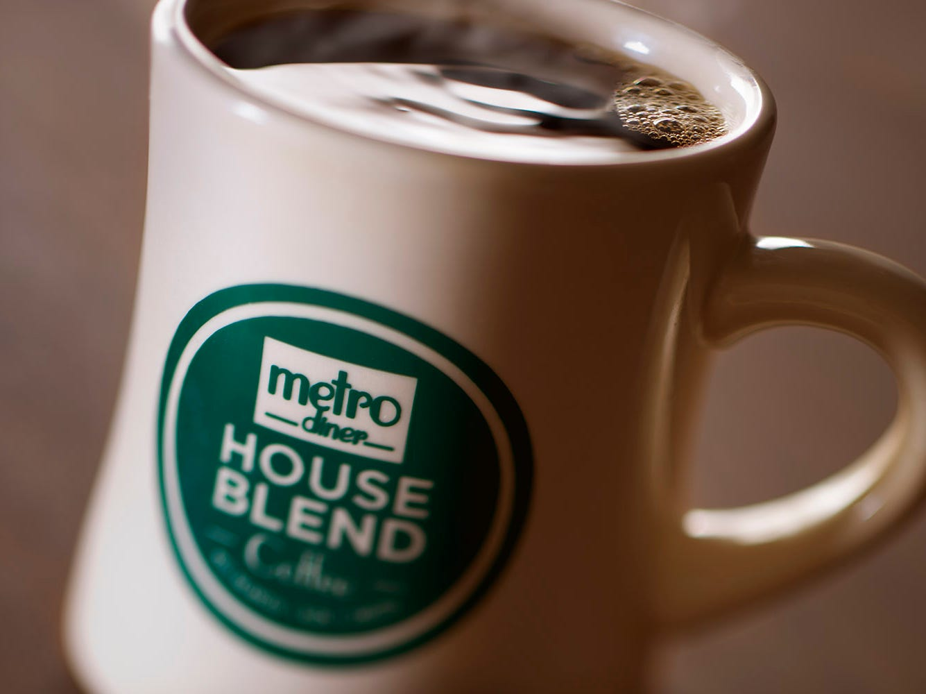 Purchase one of Metro Diner's vintage coffee mugs and get free refills on each visit.