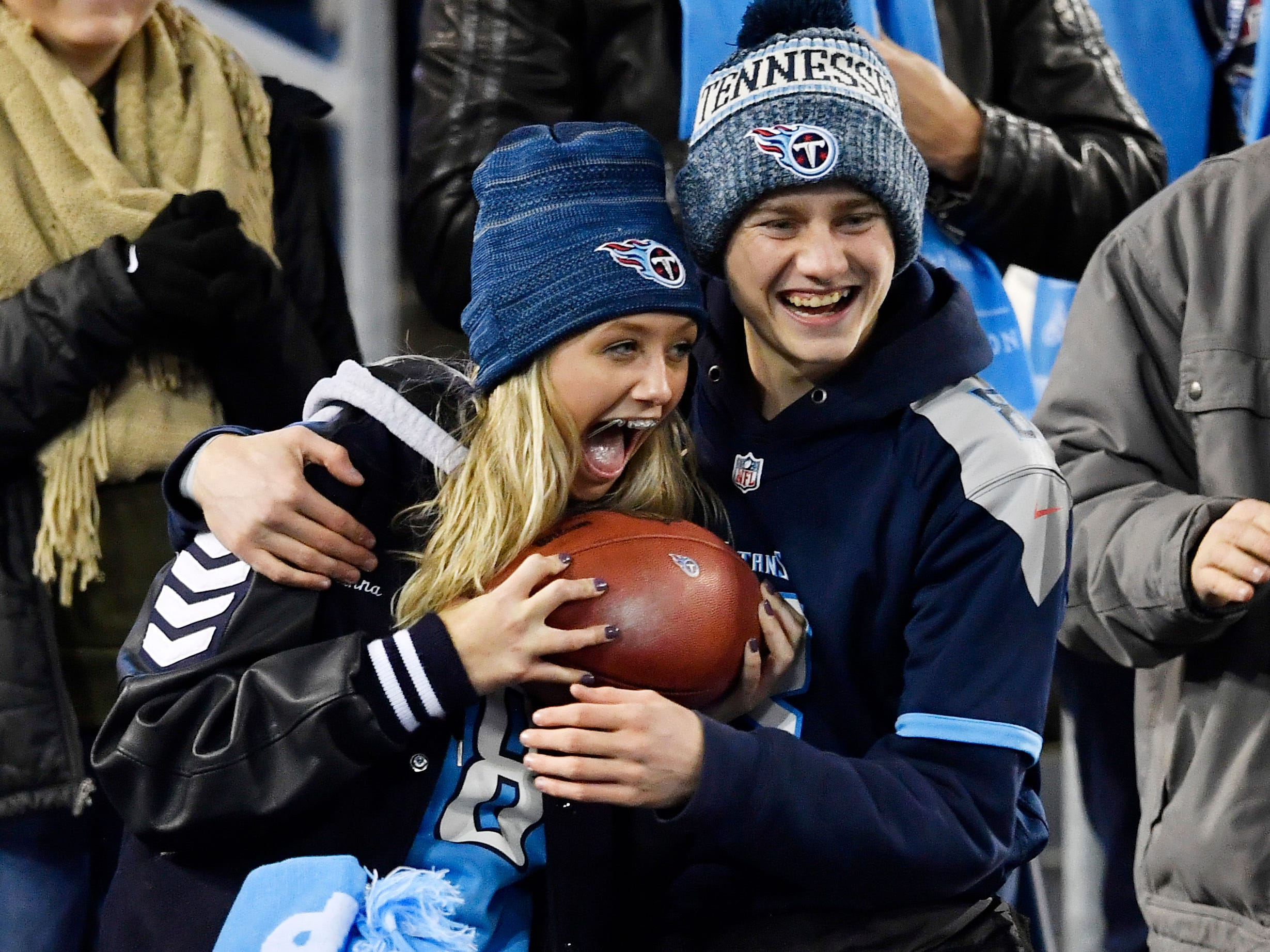 at Nissan Stadium Thursday, Dec. 6, 2018, in Nashville, Tenn.