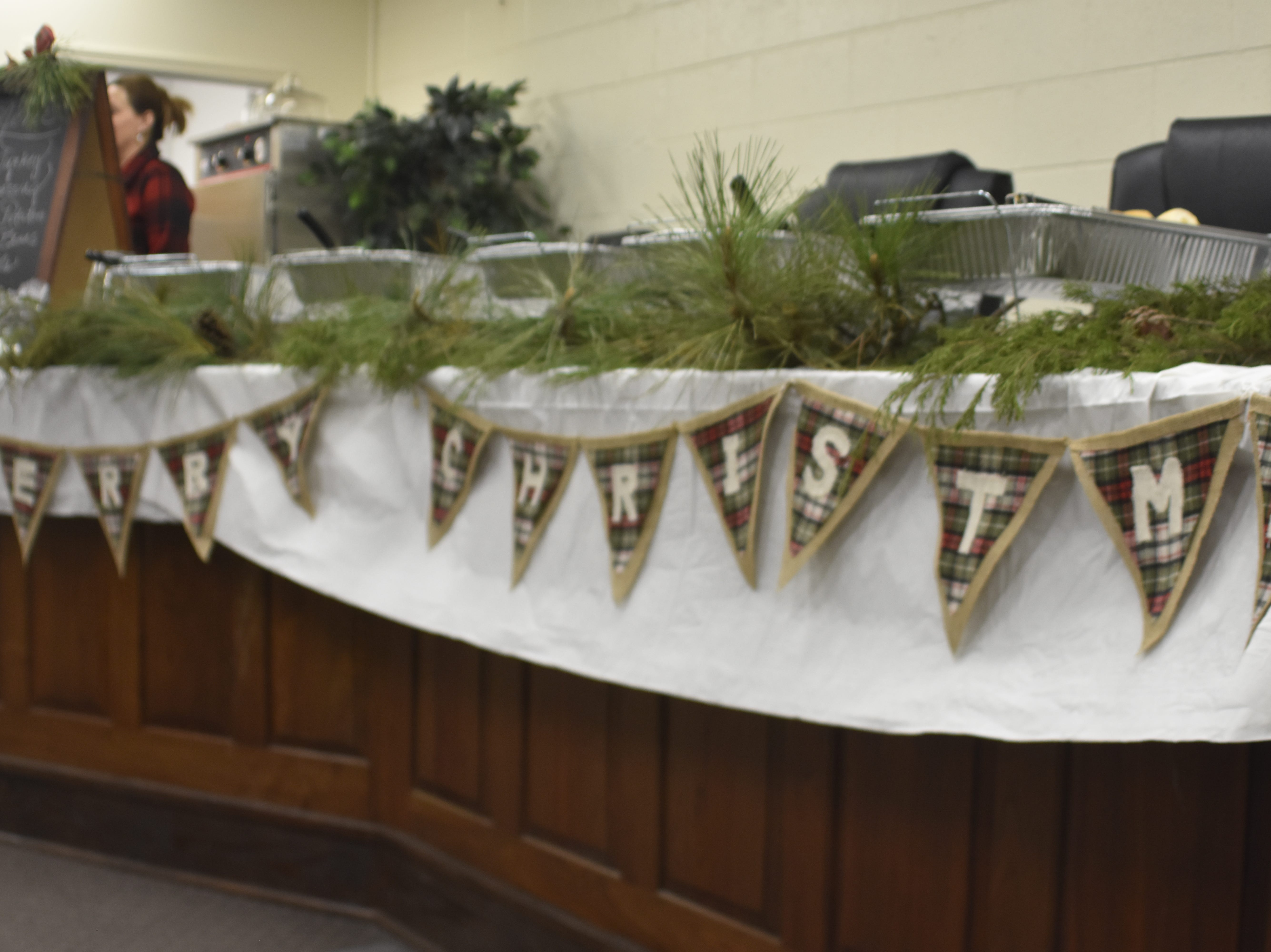 Cheatham County officials and residents gathered in the Education Annex Board room for the Cheatham County Board of Education Director's Holiday Luncheon on Friday, Dec. 7.