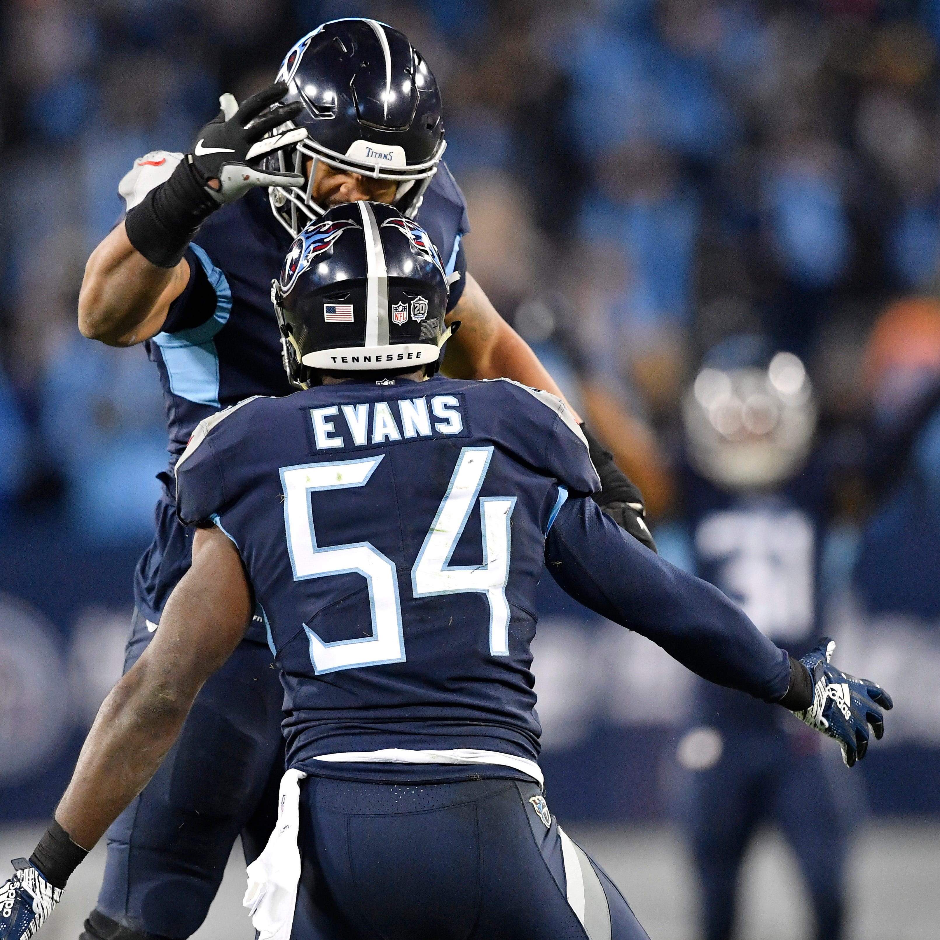 Titans can roll Tide on opponents with more than Derrick Henry — witness Rashaan Evans
