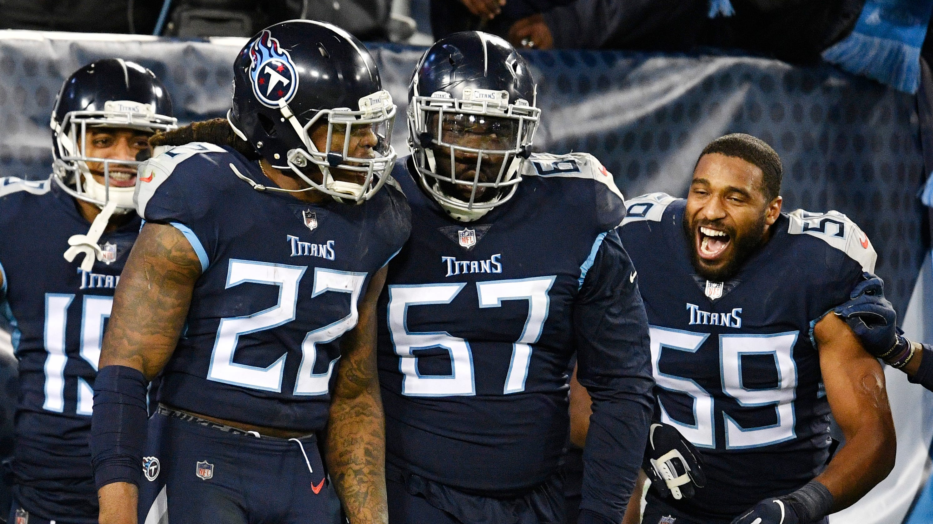 Derrick Henry's record night helps keep playoff hopes ...Derrick Henry
