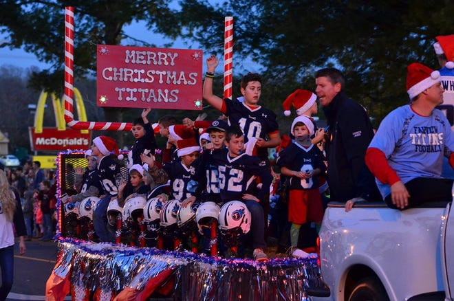Fairview Festival of Lights Christmas Parade rescheduled to Dec. 22.
