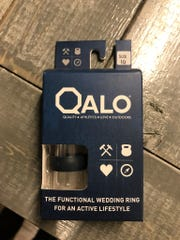 Mountain High Outfitters sells a line of $20 Qalo wedding and commitment rings that are made from silicone rather than traditional metal.