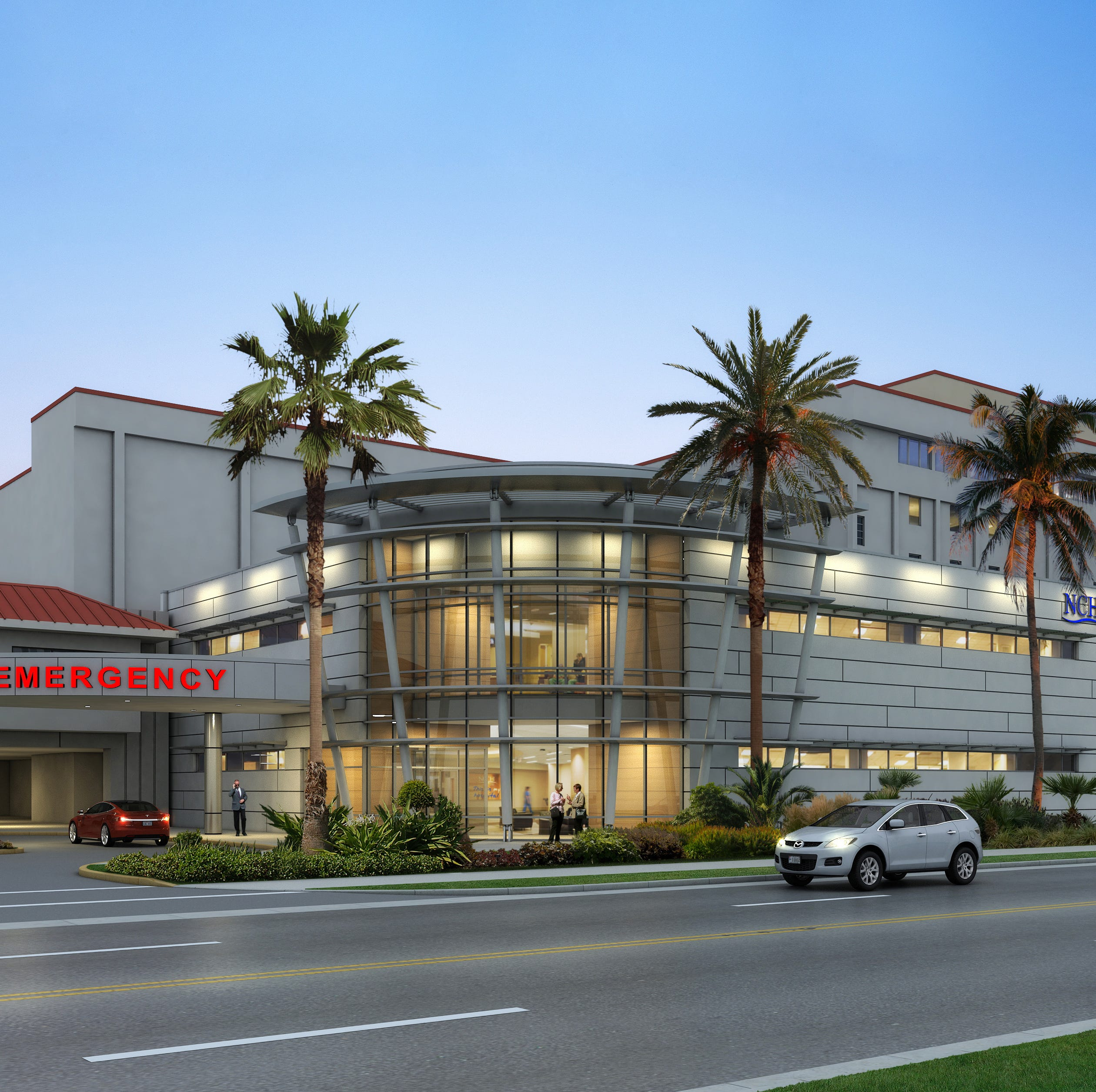 Larger, modern emergency room on tap for NCH Downtown Baker Hospital in Naples