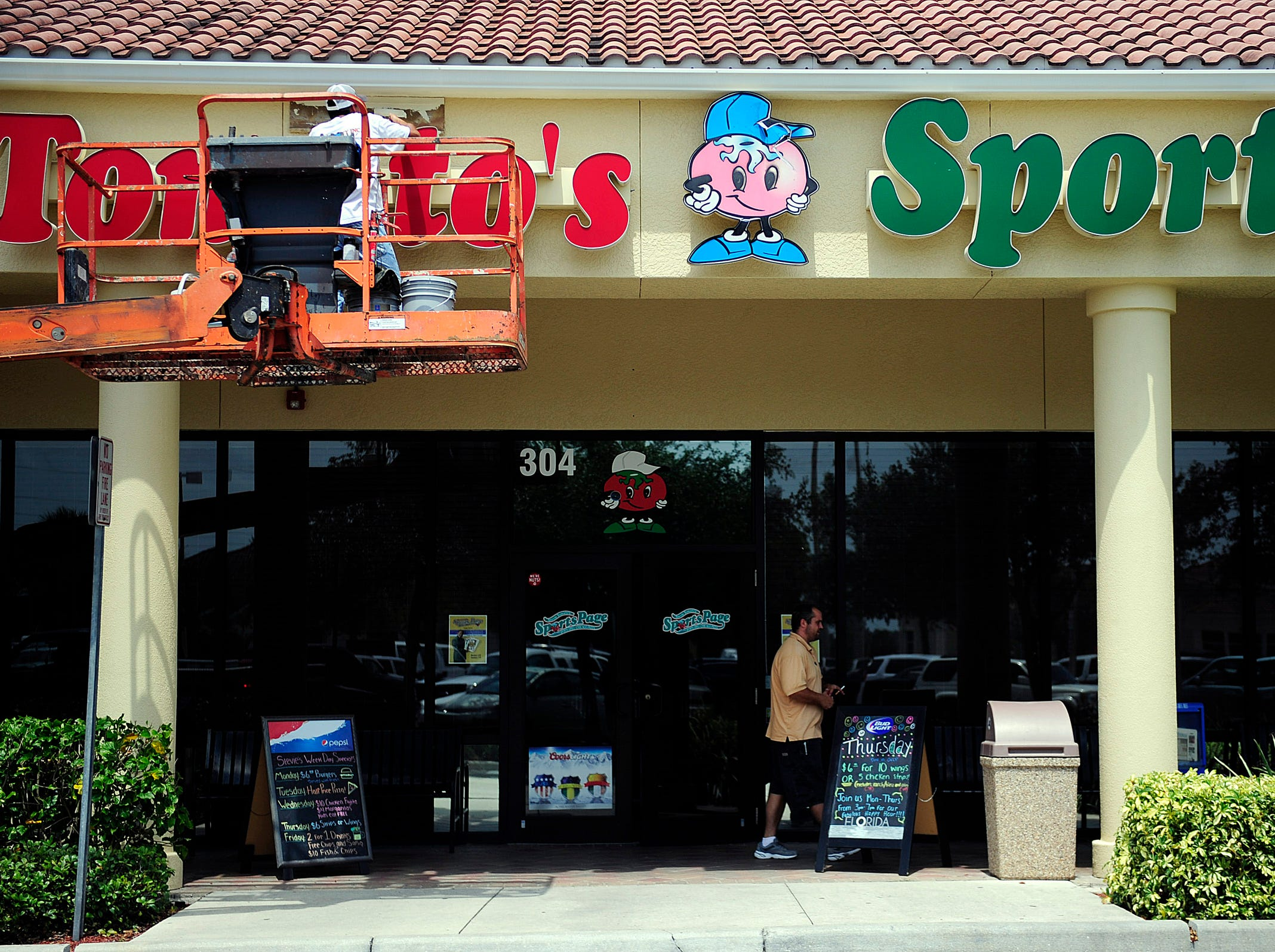 Southwest Florida locations of Stevie Tomato's Sports Page will be open noon-9 p.m. Christmas Day.