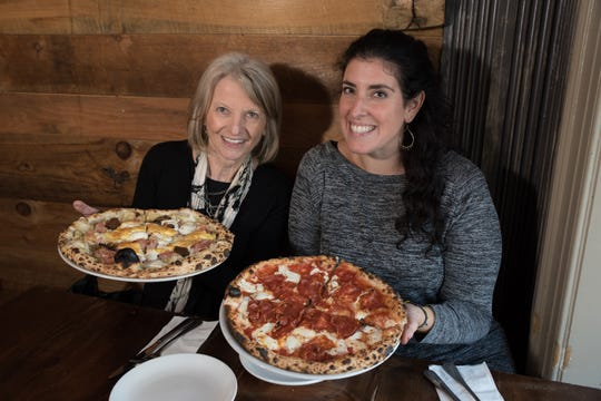 Food editor Esther Davidowitz with Jeanette Donnarumma, Ridgewood resident and senior culinary producer for the Rachael Ray Show