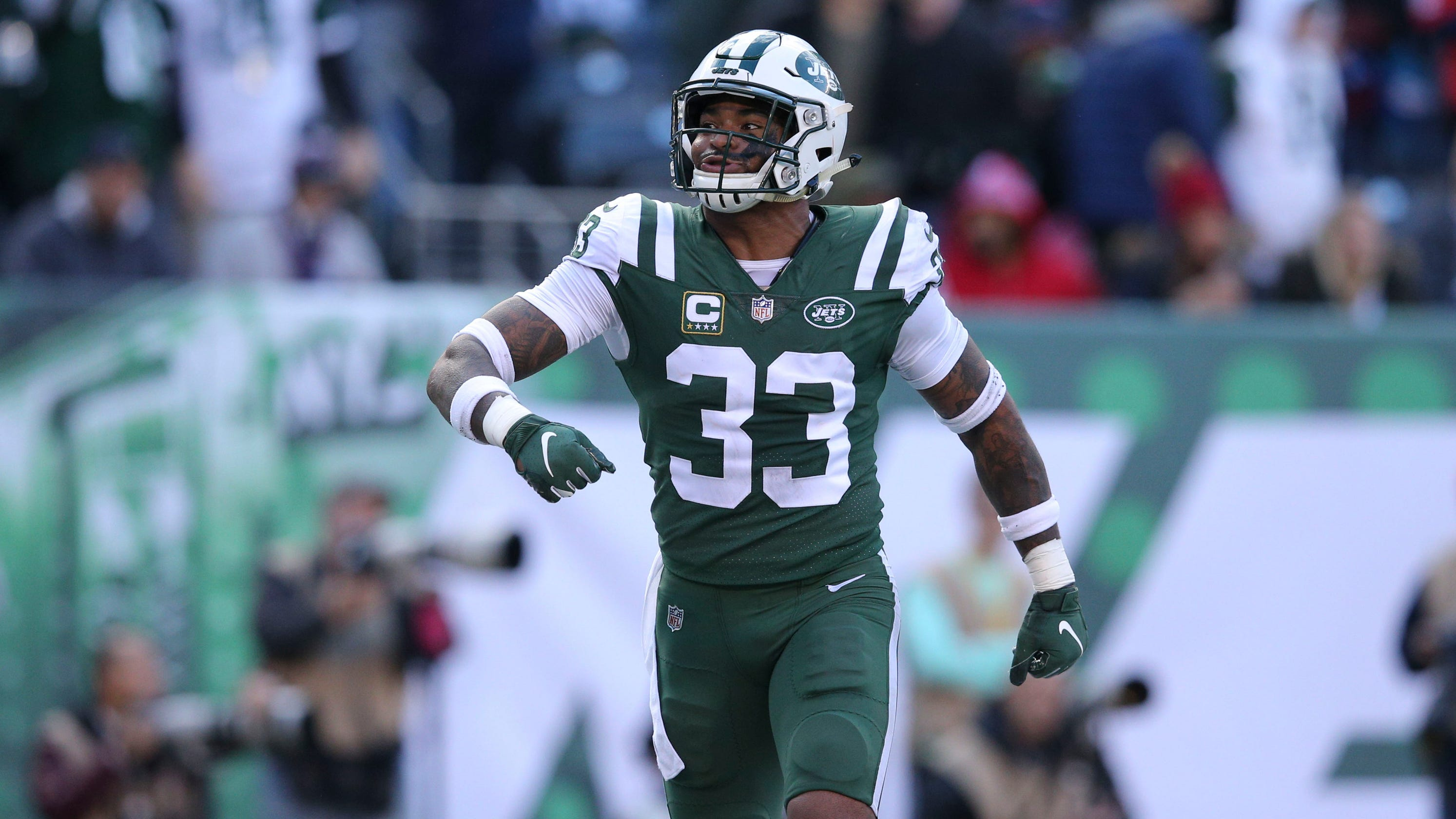 b28fe5b4801 Jets  Jamal Adams cried after the  dream come true  of making his first Pro  Bowl