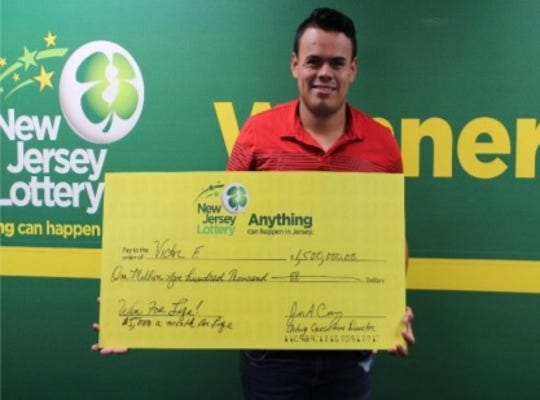 Victor F. won a $5,000 per month for life lottery at an Englewood food store.