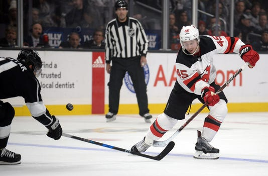 Nhl New Jersey Devils At Los Angeles Kings