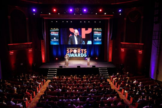 Northjersey.com Sports Awards at the Bergen Performing Arts Center on Thursday, June 14, 2018.