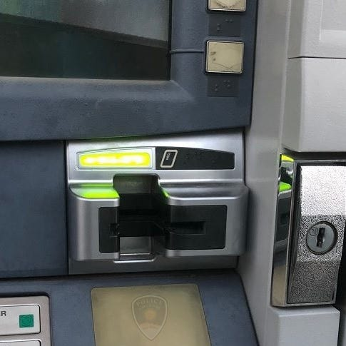 Police warn of possible card skimming devices in area