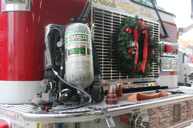 The Alamogordo Fire Department was recently awarded a $99,450 grant and plans to use the funds to upgrade the department's current Self-Contained Breathing Apparatuses, such as the model shown here.