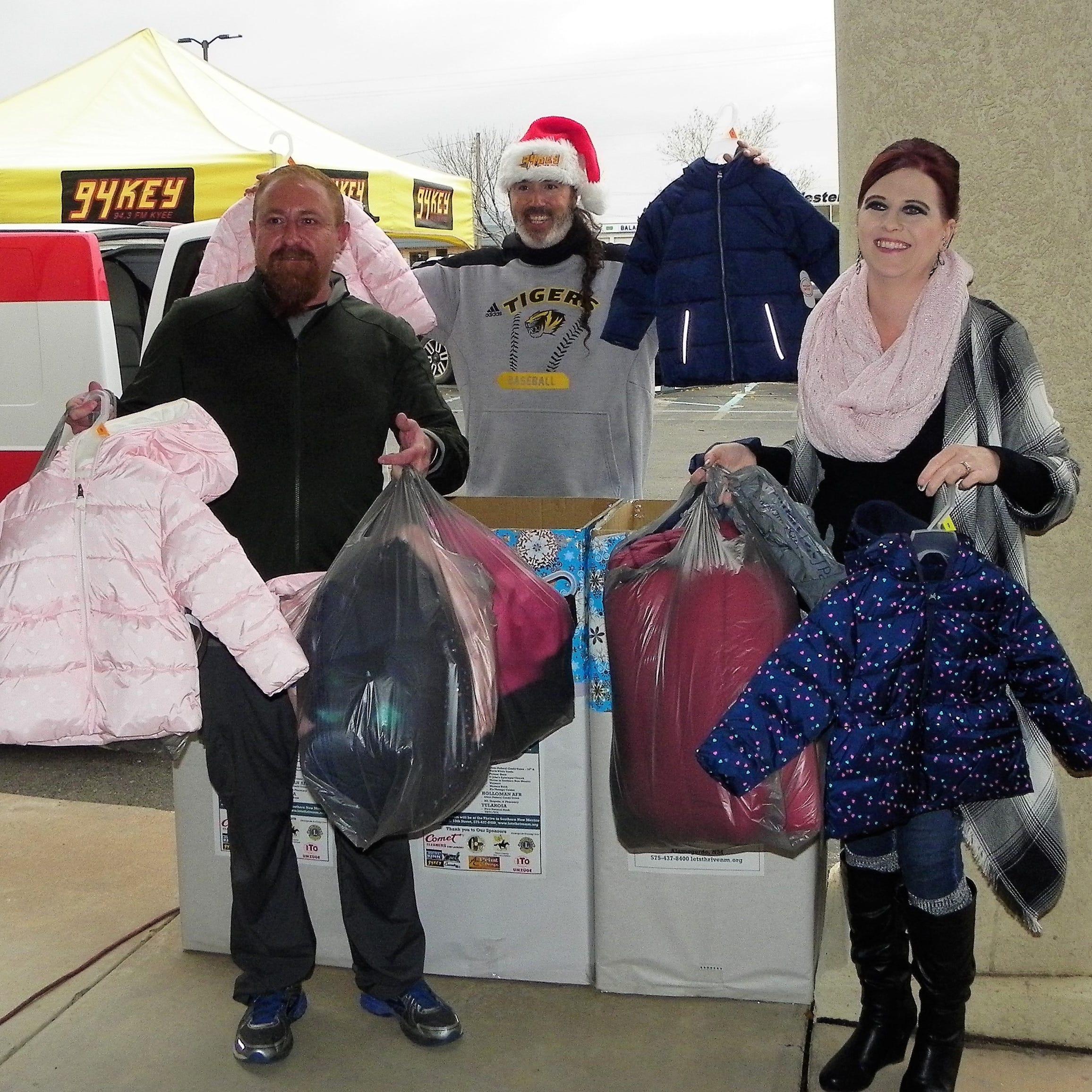 Alamogordo's Thrive collecting Koats for Kids