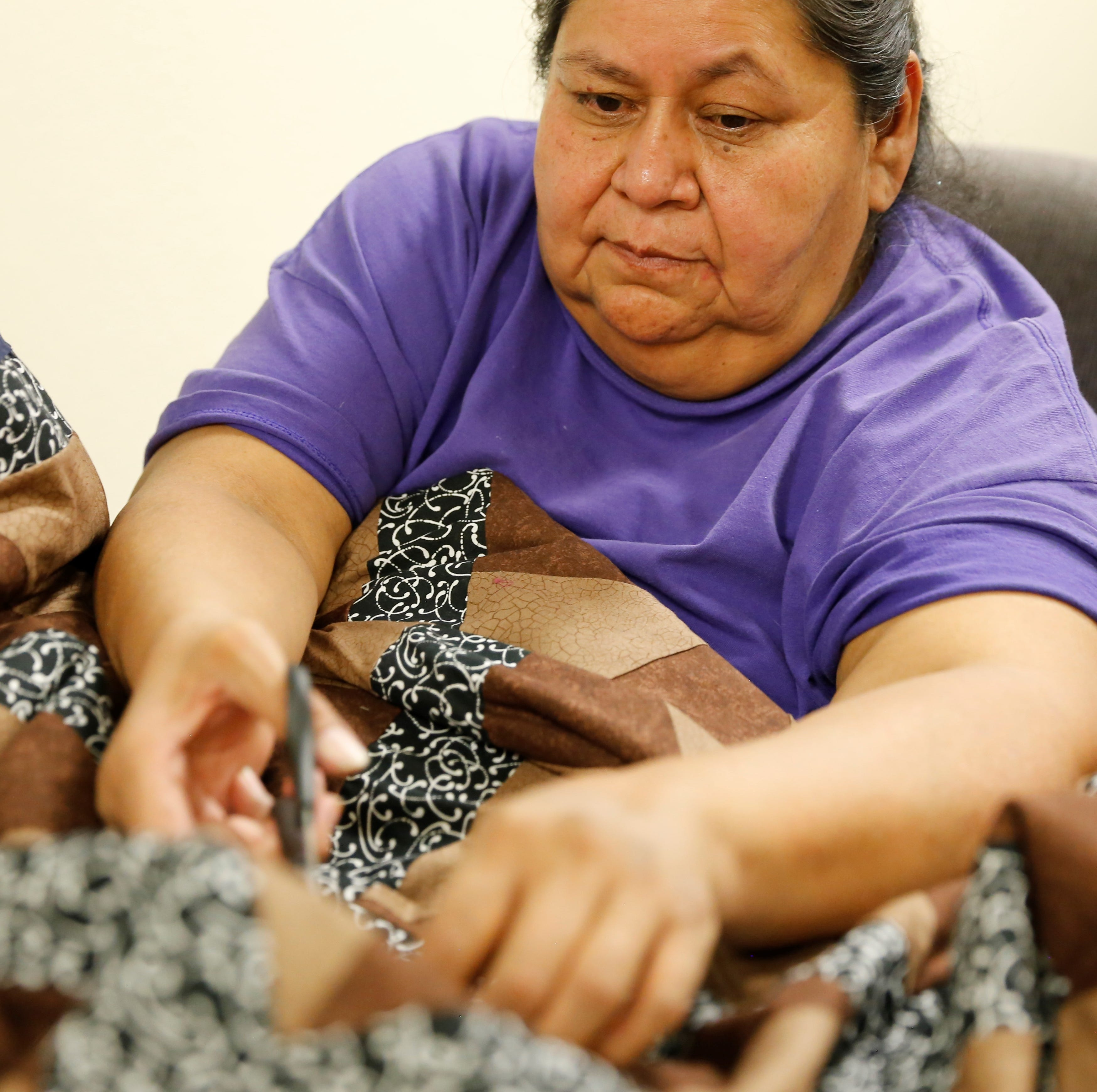 PHOTOS: Nenahnezad quilting, rug weaving project | Dec. 7