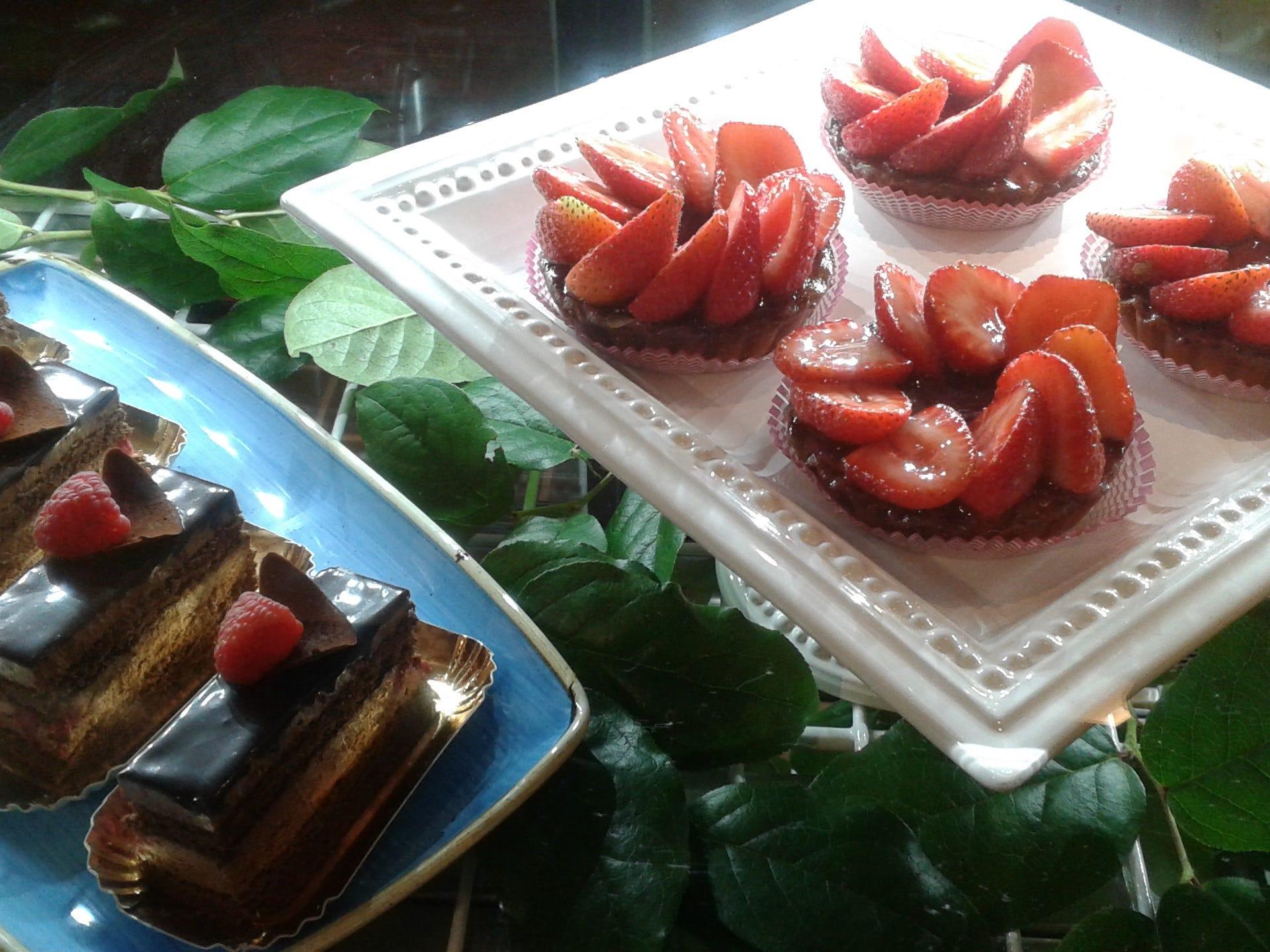 Some of the desserts at Zalman's Delicatessen