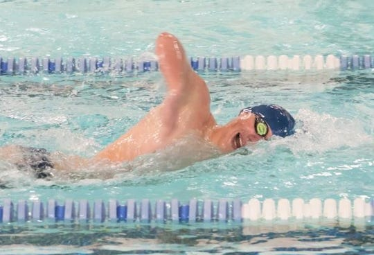 Stevenson senior Ben Rojewski is the top returning Division 1 state meet finisher in the 500-yard freestyle after placing second last year.