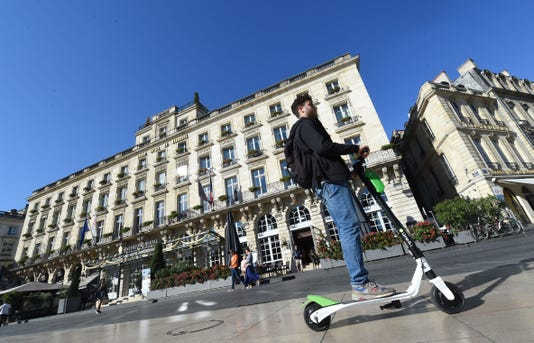France Transport Electric Scooter