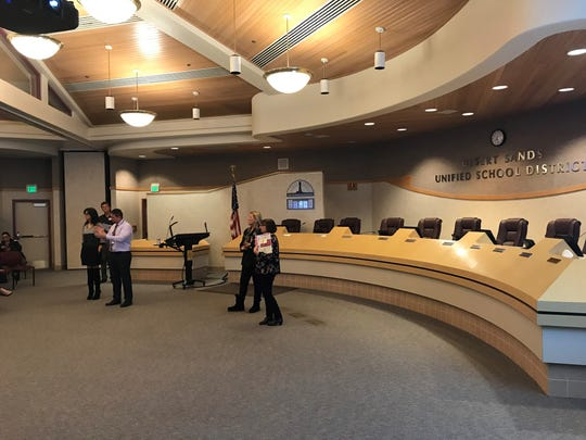 DSUSD administrators respond to questions from parents about the new state-mandated sex ed curriculum.