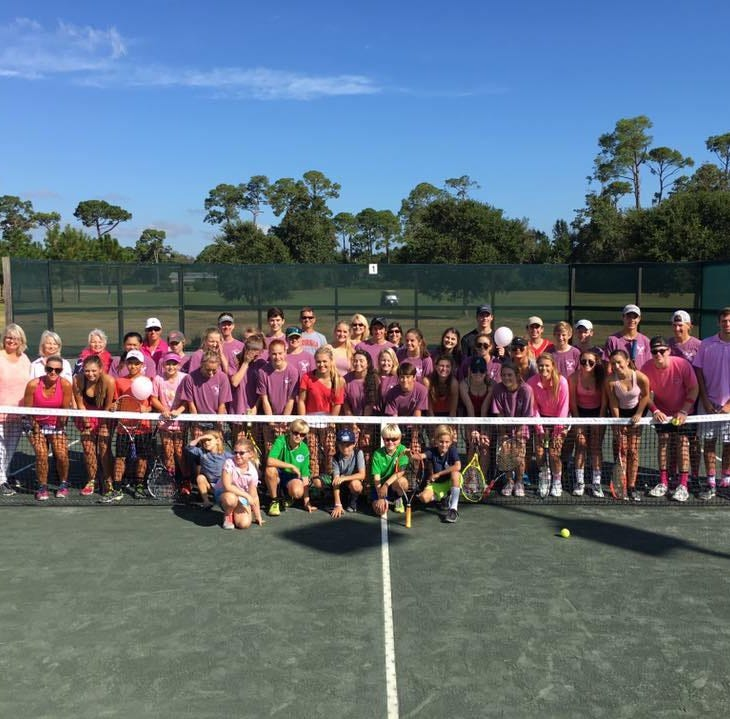 Pensacola Catholic student continues family's breast cancer charity tennis tournament