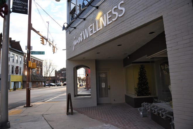 Just Wellness is now located at 104 Broadway.