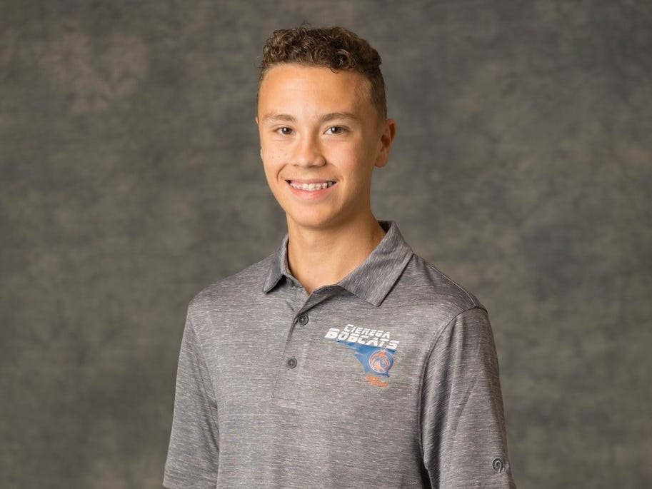 Aiden Schilb from Vail Cienega High School is a nominee for azcentral Sports Awards High School Boys Cross Country Runner of the Year. #azcsportsawards